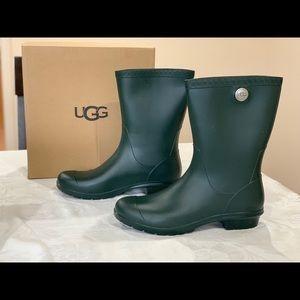 UGG Sienna Matte Rain Boot, Olive